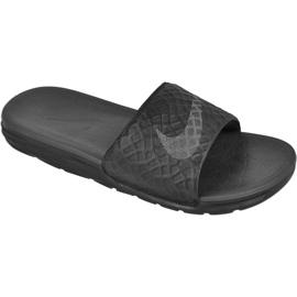 Preto Chinelos Nike Sportswear Solarsoft Benassi M 705474-091