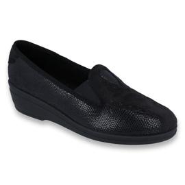 Preto Sapatos femininos Befado pu 035D002
