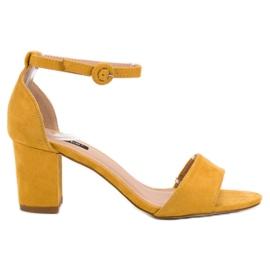 Vices amarelo Sandálias VICE Elegantes