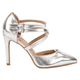 Kylie cinza Studs de moda brilhante