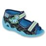 Calçado infantil verde Befado 250P088