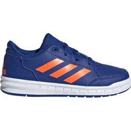 Azul Sapatos Adidas AltaSport K Jr G27095