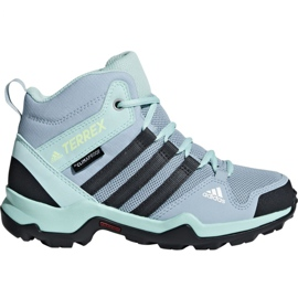 Azul Calçados Adidas Terrex AX2R Mid Cp Jr BC0672