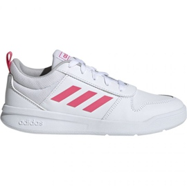 Branco Sapatilhas Adidas Tensaur K Jr. EF1088