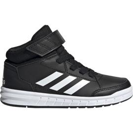 Preto Sapatos Adidas AltaSport Mid K Jr G27113