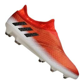 Sapatos de futebol adidas Messi 16+ Pureagility Fg M BB1870 vermelho vermelho