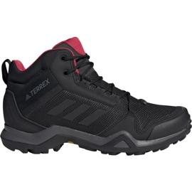 Preto Sapatos de trekking adidas Terrex AX3 Mid Gtx W BC0590
