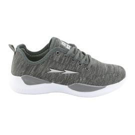 Sapatas do Esporte DK Grey SC235 cinza