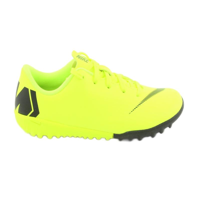 Botas de futebol Nike Mercurial VaporX 12 Academy Tf Jr AH7353-701 amarelo