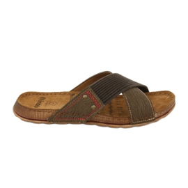 Sapatos masculinos Inblu GG009 brown marrom