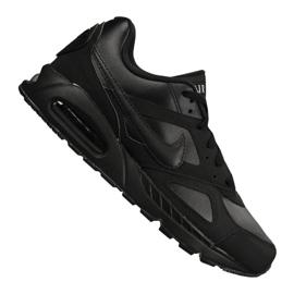 Preto Sapatos Nike Air Max Ivo Couro M 580520-002
