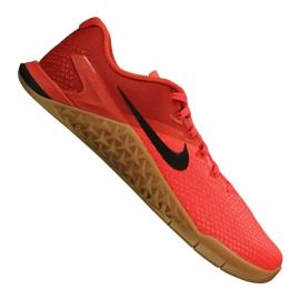 Vermelho Sapatilhas de treino Nike Metcon 4 Xd M BV1636-600
