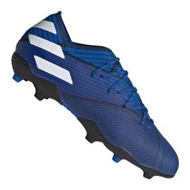 Chuteiras de futebol adidas Nemeziz 19.1 Fg Jr CF99957 azul azul