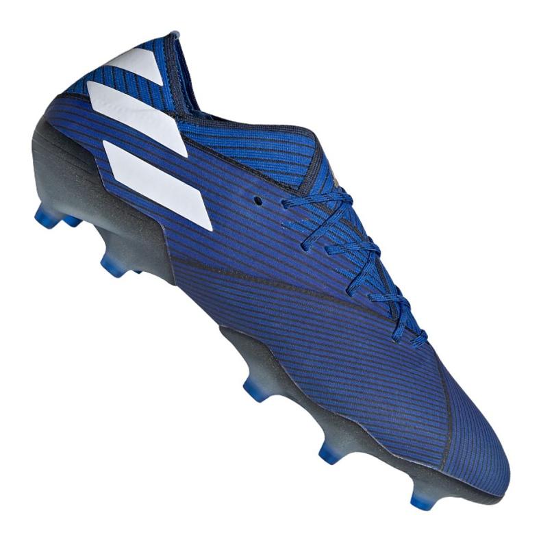 Chuteiras de futebol adidas Nemeziz 19.1 Fg M F34410 azul azul