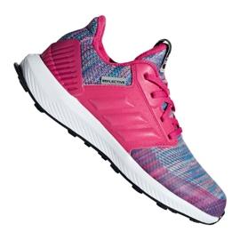 -de-rosa Sapatos Adidas RapidaRun Btw Jr AH2603