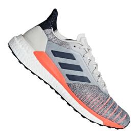 Cinza Sapatos Adidas Solar Glide M D97080
