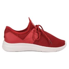 Lovery vermelho Calçado Desportivo Arejado