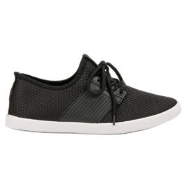 SHELOVET preto Sapatos Esportivos Elegantes