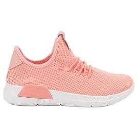 SHELOVET -de-rosa Sapatos Femininos Slip-on