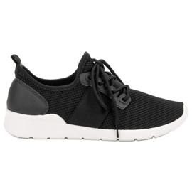 SHELOVET preto Sapatilhas Esportivas