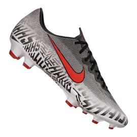 Sapatos de futebol Nike Vapor 12 Pro Njr Fg M AO3123-170 cinza / prata branco
