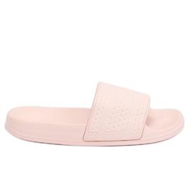 Chinelos de espuma rosa J10761 rosa