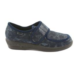 Sapatos femininos Befado pu 984D015 marinha