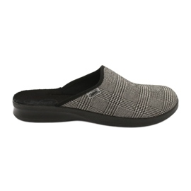 Sapatos masculinos befado pu 548M021 cinza