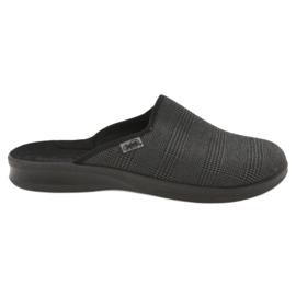 Sapatos masculinos befado pu 548M016 cinza
