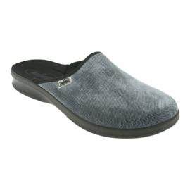 Sapatos masculinos befado pu 548M017 cinza