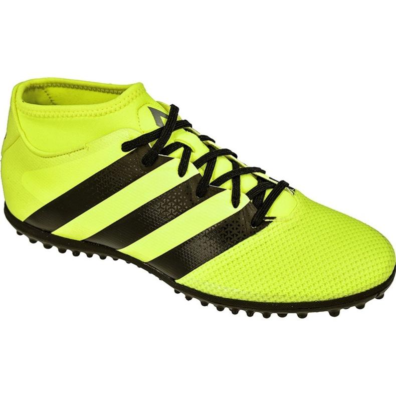 Chuteiras de futebol adidas Ace 16.3 Primemesh Tf M AQ3429 amarelo multicolorido
