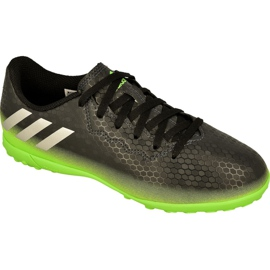 Chuteiras de futebol adidas Messi 16.4 Tf Jr AQ3515 preto preto