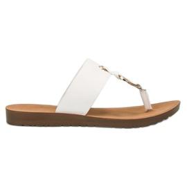 Flip-flops à moda de VINCEZA branco