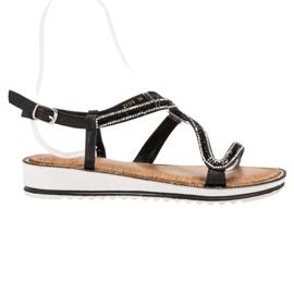 SHELOVET Sandálias na plataforma preto