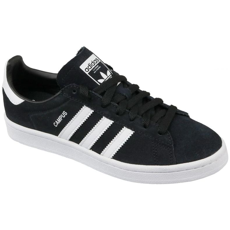 Sapatos Adidas Originals Campus Jr BY9580 preto