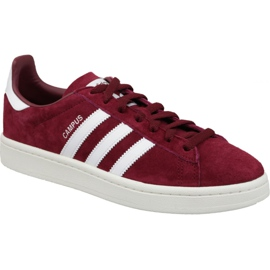 Adidas Originals Campus M BZ0087 sapatos bordô