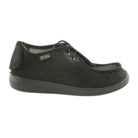 Preto Sapatos masculinos befado pu 732M004
