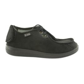 Sapatos masculinos befado pu 732M004 preto