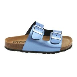 Chinelos azuis médicos BIOX azul