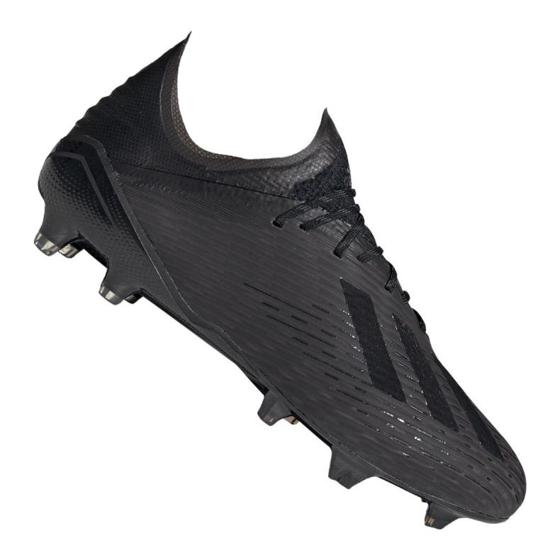 Sapatos de futebol adidas X 19.1 Fg M F35314 preto preto