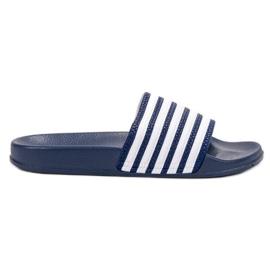 SHELOVET azul Esportes chinelos com cintos