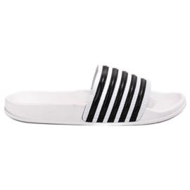 SHELOVET branco Esportes chinelos com cintos