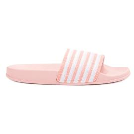 SHELOVET -de-rosa Esportes chinelos com cintos