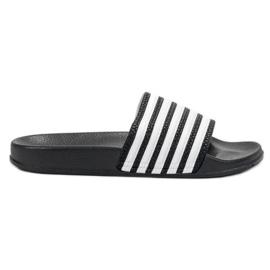 SHELOVET preto Esportes chinelos com cintos