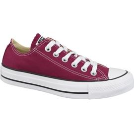 Sapatos Converse Chuck Taylor todas as estrelas Boi M9691C Borgonha