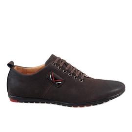 Marrom Sapatos masculinos marrons WF932-3