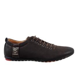 Marrom Sapatos masculinos marrons WF933-3