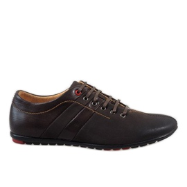 Marrom Sapatos masculinos marrons WF931-3