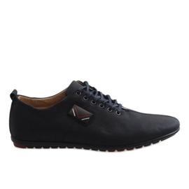 Sapatos masculinos pretos WF932-1