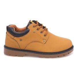 Marrom Botins Clássicos Sapatos Ankle Boots JX-20 Camel